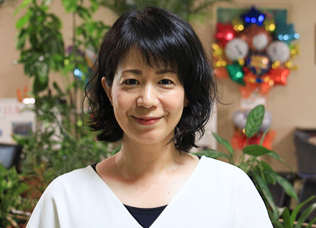 中学英語科 比嘉 由紀子