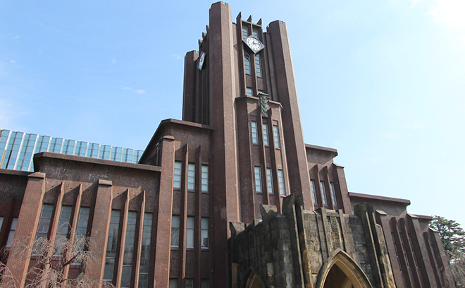 Results of passing entrance exams for universities (Japanese)
