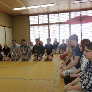 茶道体験授業