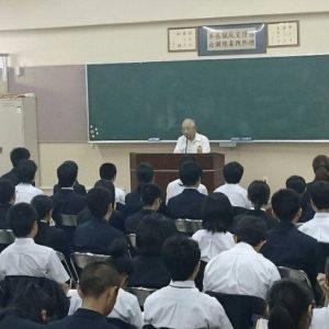 與座章健さん講演会1
