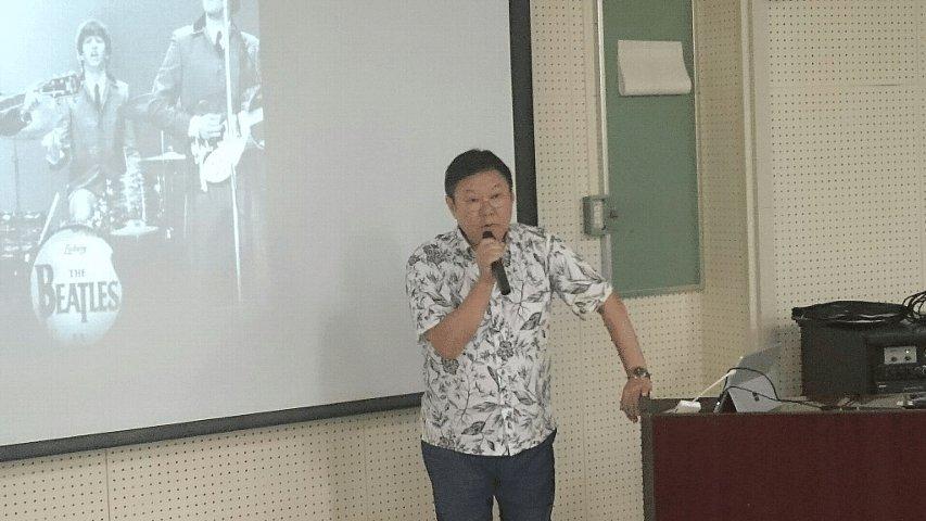APU今村副学長 出張講義①