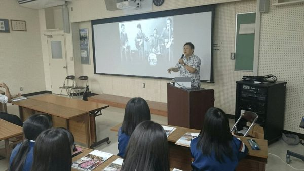 APU今村副学長 出張講義②