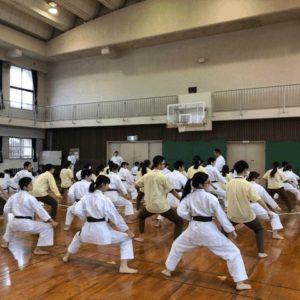 羅東高校との交流3 空手体験