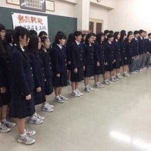羅東高校との交流5 合唱部演奏