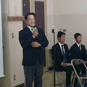 大原弘先生のごあいさつ